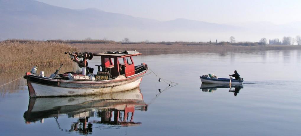 Η Λίμνη Τριχωνίδα